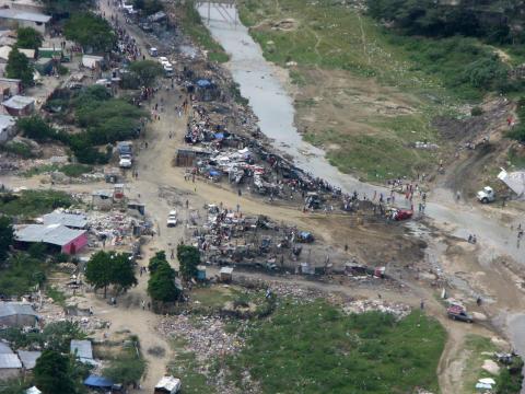 flygbild Haiti