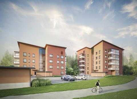Joensuuhun valmistuvien uusien asumisoikeusasuntojen hakuaika on nyt käynnissä