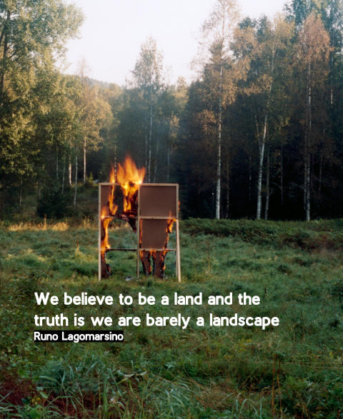 Pressvisning: We believe to be a land and the truth is we are barely a landscape