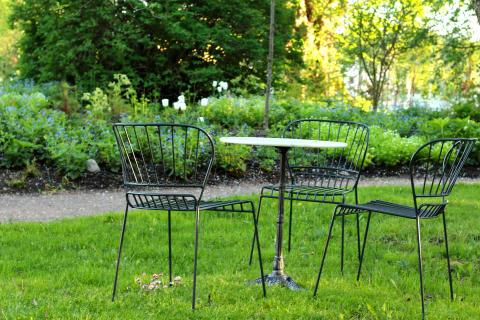 Vacker sittplats Astrid Lindgrens Näs