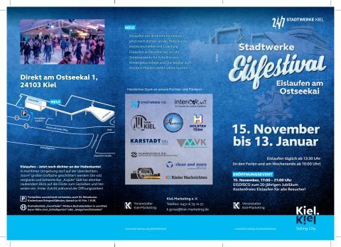 Veranstaltungsflyer mit allen Infos und Preisen