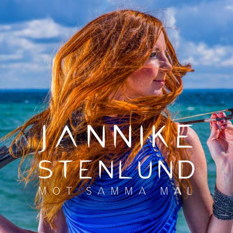 """Sångerskan & violinisten Jannike Stenlund släpper singeln """"Mot samma mål""""!"""