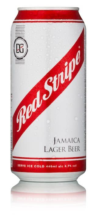 Red Stripe lanseras på burk