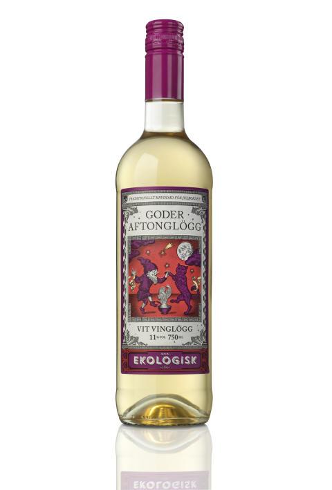 Goder Aftonglögg vit vinglögg, 11% vol.  Art nr 96019-01