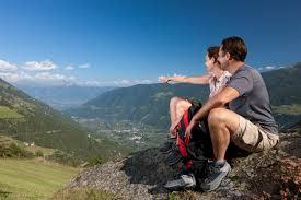 Neue Attraktion am Naturnser Sonnenberg - Aussichtsplattform in luftiger Höhe