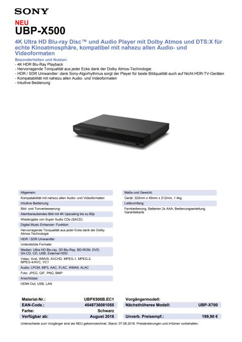 Sony_Datenblatt UBP-X500