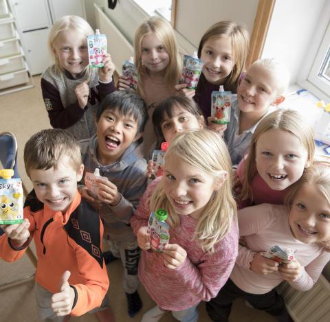 SFO-barn vant innovasjonspris
