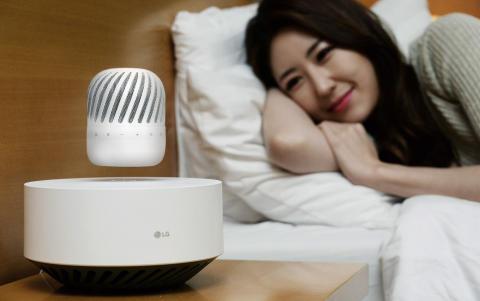 LG annoncerer svævende Bluetooth-højttalere