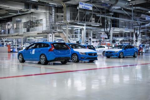 Produktionsstart av nya Volvo S60 och V60 Polestar