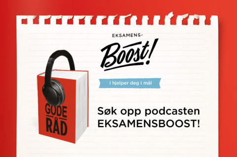 Boost for eksamenspodcast