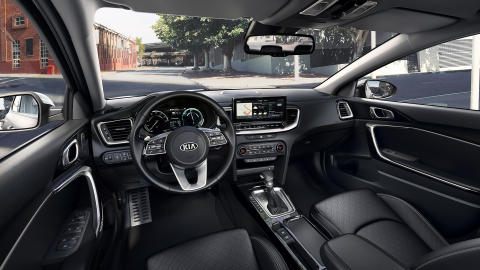 Interiør i nye Kia XCeed Plug-in Hybrid