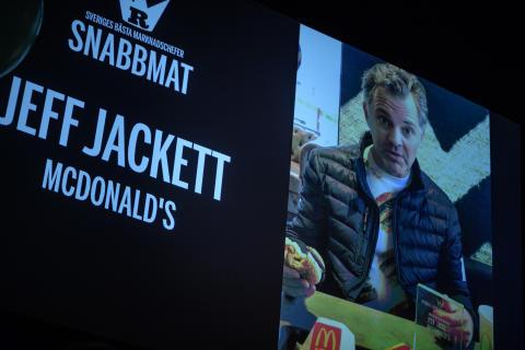 Jeff Jackett, McDonalds