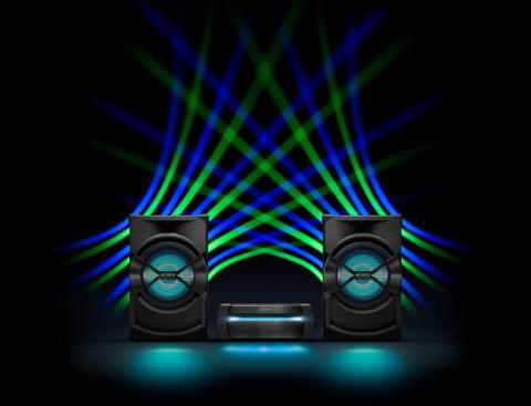 Die neuen Audio-Systeme von Sony machen dank ihrer Power jede Feier zur Party