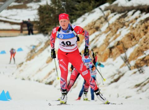 Eline Grue,jaktstart junior kvinner,junior-vm2016