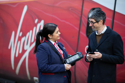 Virgin Trains roll out Avocet