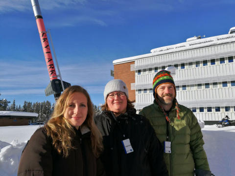 Pressinbjudan: NASA besöker Umeå universitet och pratar rymdfärdsforskning