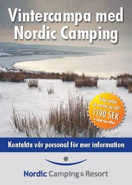 Campingfrossa - campa obegränsat under hela vintern!