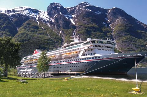 Fred. Olsen Cruise Lines' flagship Balmoral to set sail from Edinburgh in 2018/19