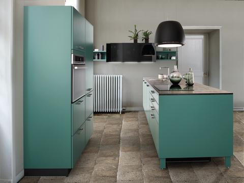 Schmidt køkken moderne grøn