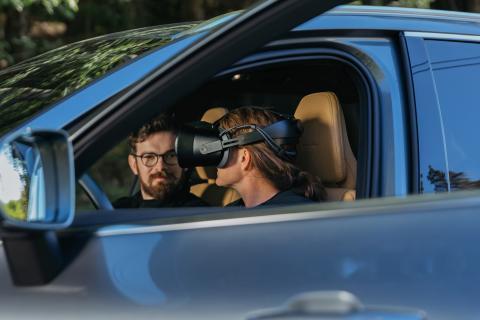 Volvo Cars och Varjo lanserar världens första Mixed Reality-applikation för bilutveckling