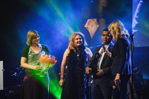 Scandics hotelldirektör Roshan Malalatunga utsedd till Årets näringslivsdiamant 2016