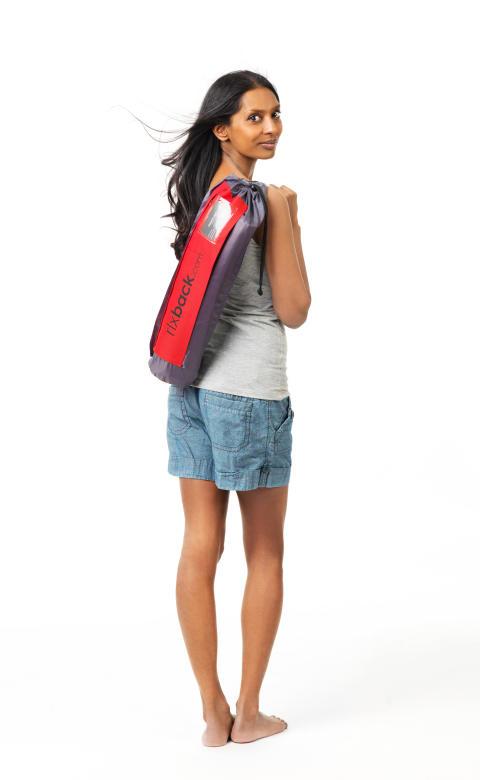Rlxback väska på ryggen