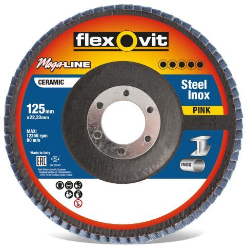 Flexovit Mega-Line Pink lamellrondeller - Produkt 3