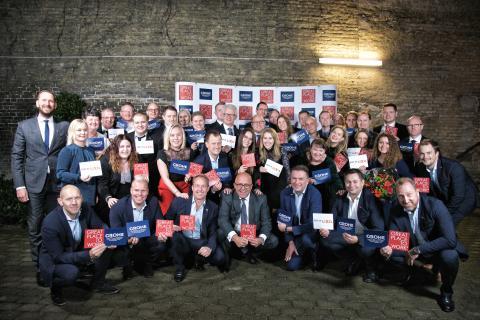 GROHE Northern Europe kåret som en af Danmarks bedste arbejdspladser