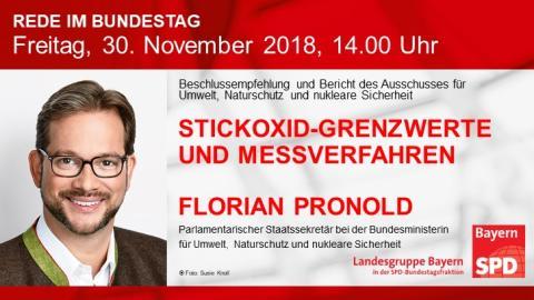 Florian Pronold in der Bundestagsdebatte
