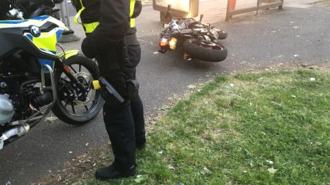 Recovered motorcycle [2]