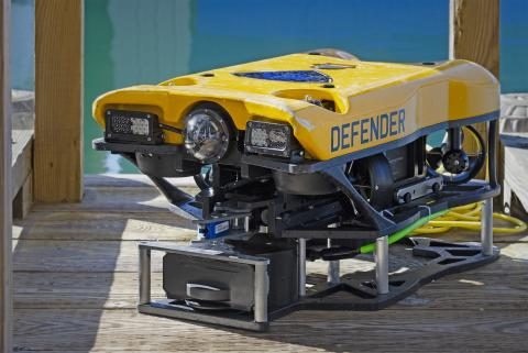 KONGSBERG demos high-resolution imaging sonar for observation-class ROVs at Ocean Business 2019