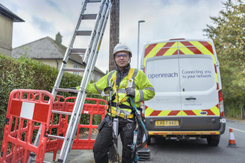 We're delighted to be working on the next phase of fibre roll-out in Wales