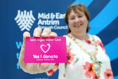 ​Mayor urges residents to sign up to save lives this Organ Donation Week