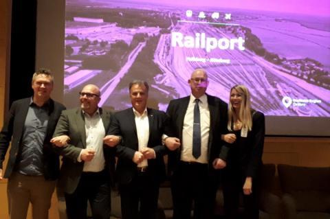Railport Hallsberg -Göteborg - ett lyckat event med affärsnytta i fokus!