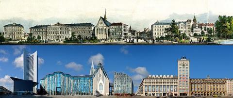 Der Leipziger Ring damals und heute