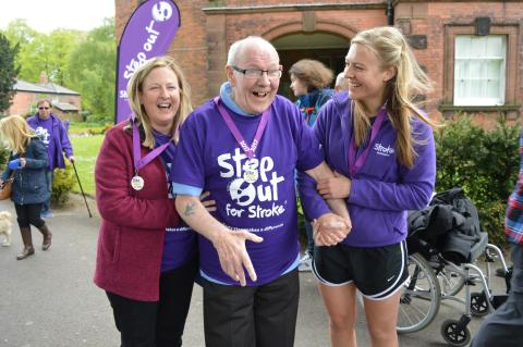 ​Step Out in Liverpool to support stroke survivors