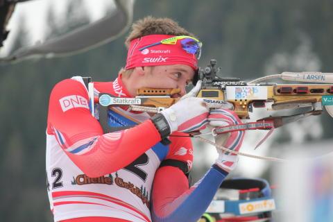 Lars Gunnar Skjevdal,skytebane,jaktstart menn junior,junior-vm 2016