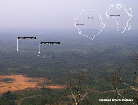 Arconaarkitekt i Sierra Leone