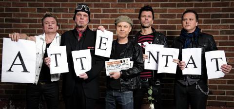 Legendariska punkarna Attentat  spelar i Nordstan 7 december