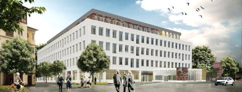 ​Innovation Hub Uppsala - nytt hus samlar innovationsstödet i Uppsala Science Park