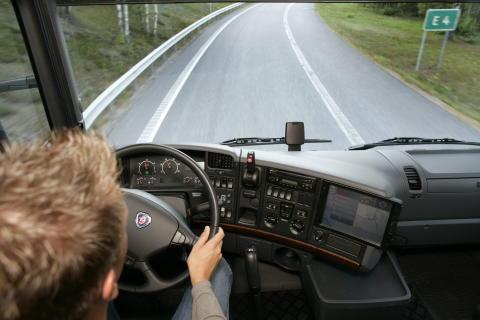 Scania Lane Departure Warning