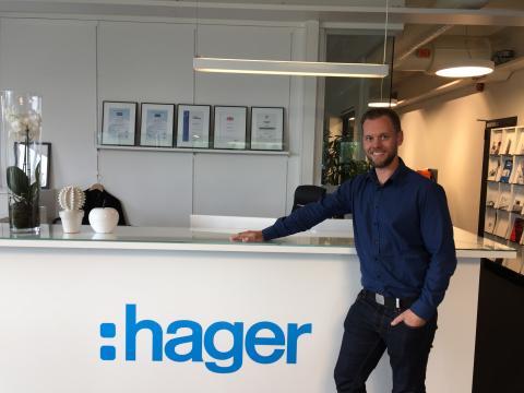 Nicklas Öjetoft tar plats på Hagers Stockholmskontor