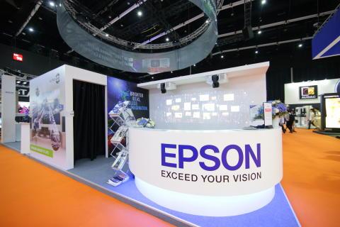 Epson showcases brightest 30,000 lumens 3LCD projector and interactive applications at Infocomm Southeast Asia 2019 event