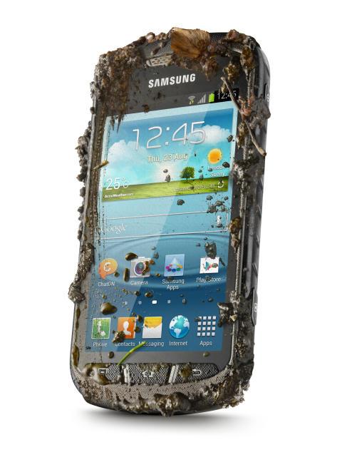 Tuffa tag: Samsung Galaxy Xcover II redo för action