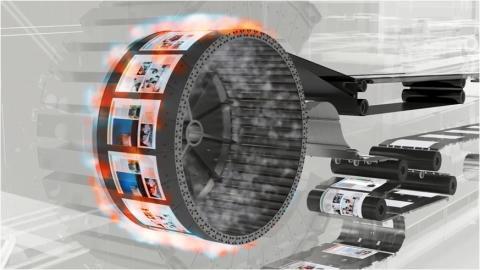 Oce VPi300 drying