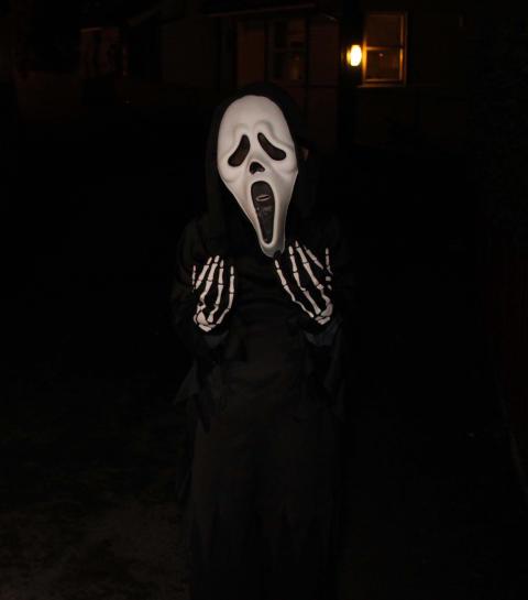 Halloween - barn uten refleks