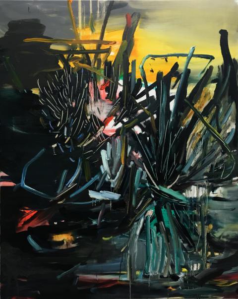 Jenny Carlsson, Ljusaste natt (vakande ängel), 2019