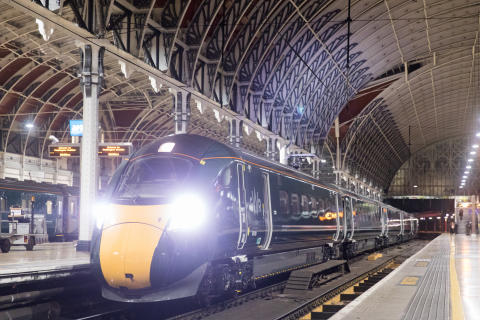 Intercity Express Train in passenger service at Paddington station