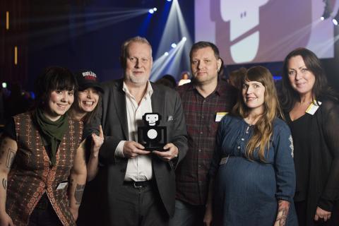 Liseberg belönades med Live Apan för Årets Venue
