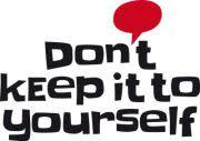 Don´t keep it to yourself - donationsdagarna i Nordstan 13-14 oktober